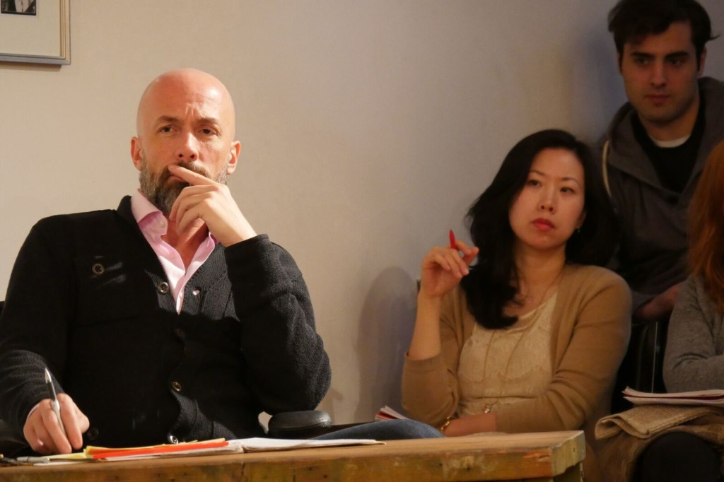 Charlie Sandlan at the Maggie Flanigan Studio - Meisner Technique Acting Program