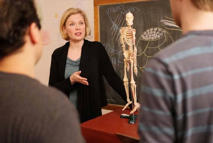 anatomy class for actors at Maggie Flanigan Studio