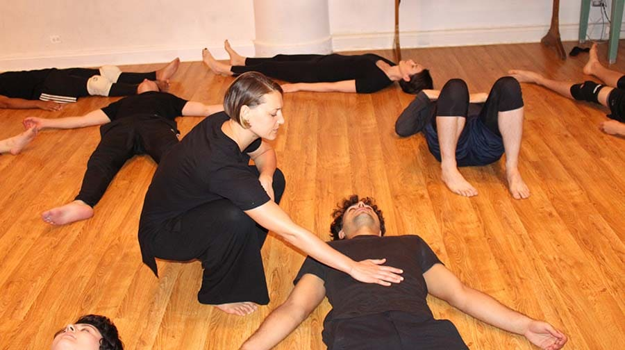 Movement Class for Actors NYC - Briana Packen