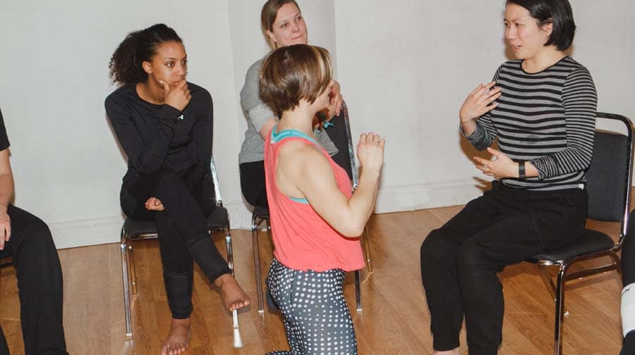 voice and speech class for actors new york ny